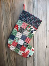 Quilted Christmas Stocking Pattern Inspiration Ye Olde Sweatshop Quilted Christmas Stockings