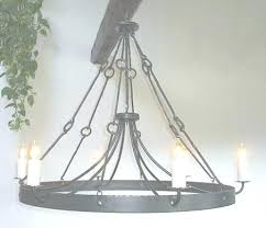 simple wrought iron chandelier simple wrought iron chandelier ace wrought iron custom large pertaining to hand