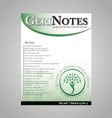 home page academy of geriatric physical therapy org gerinotes publication