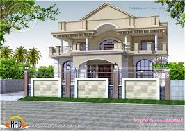 Small Picture Four Spain Style House Designs Kerala Home Design And Floor