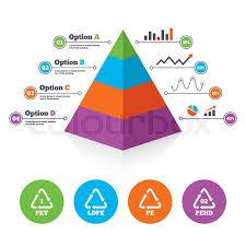 Pyramid Chart Template Pet Ld Pe And Stock Vector