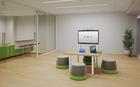 Smart Space Design Turnkey Collaboration Conference And Huddle Room Designs
