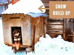 outdoor dog house for winter snow build up on traditional dog house diy outdoor winter dog