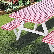 amazon patio furniture covers. deluxe picnic table cover 3pc set red amazon patio furniture covers r