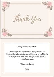 Thank You For Sympathy Card 33 Best Funeral Thank You Cards Love Lives On