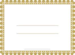 Award Templates 5 Blank Award Certificates Blank Certificates