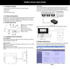 Modbus Server For Energy Meter Manualzz Com