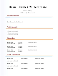 Free Blank Resume Templates Download Amazing Blank Resume Template Blank Resume Template Download Form Co Free