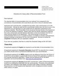 Letter Of Recommendation Form The Psychology Department At Fau