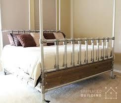 industrial furniture ideas. Diy Pipe Bed Frame Industrial Bedroom Furniture Ideas Luxury  Best Decor Images On Pvc Industrial Furniture Ideas H
