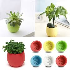office flower pots. free shipping 2016 new arrival round home office garden window decor planter plastic plant seed flower pots a