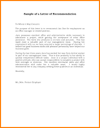 10 Employment Recommendation Letter Intern Resume