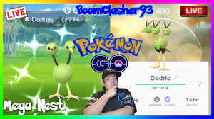 NEW SHINY MEGA EVENT - Insane Brand New Shiny Doduo Mega Nest/Hunting in  Pokemon GO!!! - YouTube
