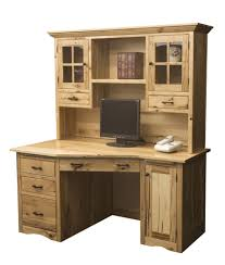 solid wood home office desk. amazing of solid wood computer desk with amish mission hutch home office m