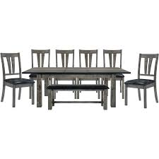8 Piece Dining Room Table Sets Southernvarsityinfo
