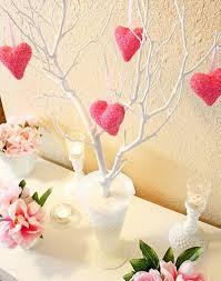 diy valentine heart tree centerpiece easy home