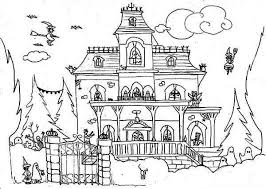 Full House Coloring Pages At Getdrawingscom Free For Personal Use