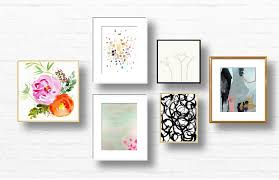 on gallery wall art prints with how to curate a gallery wall