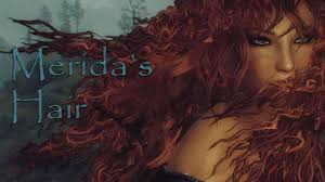 Skyrim Hair Style Mod merida hair with physics at skyrim nexus mods and munity 3769 by wearticles.com