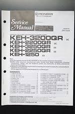 keh in consumer electronics pioneer keh 3200 2200 3250 2250 1250 service manual