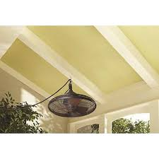 allen roth 20 bronze downrod mount indoor outdoor porch gazebo ceiling fan