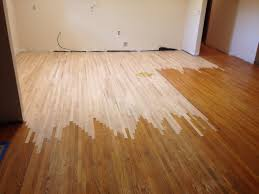 Solid Wood Floor In Kitchen Wood Floor Repair And Refinishing In Jacksonville Dans Floor Store