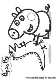 Small Picture Peppa Pig coloring pages in the Coloring Library Coloring Pages