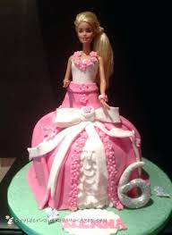 Barbie Doll Cake Pic With Name Princess Birthday Cakes Ideas For