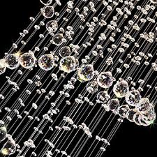 8 of 12 k9 crystal chandelier spiral clear crystal glass droplet ceiling light bulbs