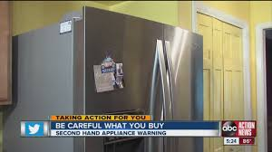 Where Can I Buy Appliances Be Careful When Buying Used Appliances Youtube