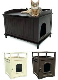 cat furniture litter box es cat litter box cabinet door