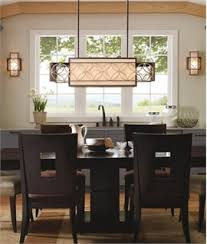 Dining room table lighting Lighting Fixtures Box Wide Ceiling Light Arts Craft Design Lighting Styles Dining Room Lights Lighting Styles