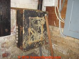 knob fuse box not lossing wiring diagram • knob tube wiring how to identify inspect evaluate repair knob rh inspectapedia com knob and tube vs fuse box knob and tube vs fuse box