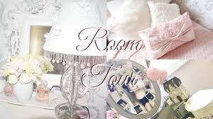 Room Tour Girly Shabby Chic Vintage Youtube