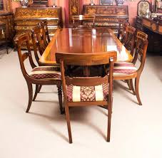 antique dining room chairs. Antique Dining Room Chairs This Is Fabulous Vintage Set Comprising A Regency Style Table H