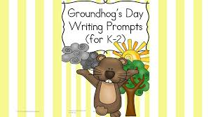groundhog day writing prompts for kindergarten nd grade