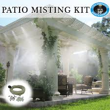 Patio Mister For Mistscaping Patio And Outdoor CoolingBackyard Misting Systems