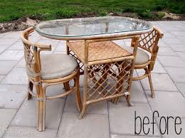bamboo patio set refresh reality daydream