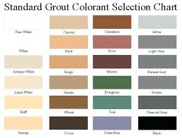 Grout Refresh Colors Related Post Color Chart Ismts Org
