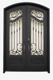 sliding glass door window transom iron door