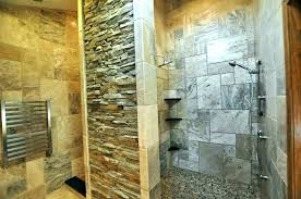 shower designs without doors bathroom modern open design pictures glass desi