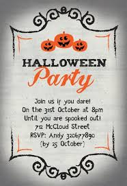 Blank Halloween Invitation Templates Halloween Party Invitation Templates Free Greetings Island