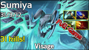 sumiya visage dota 2 full game party game youtube