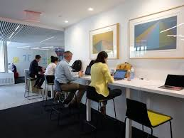 images of an office. members of the chief information office team work in newly renovated agile space at ibm june 29 2017 armonk photo tania savayanthe journal news images an w