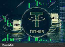 Coin Cryptocurrency Usdt Tether Stack Of Coins And Dice