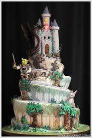 Dreamy Castle Cake