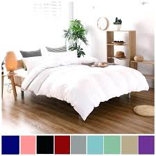 full image for solid white duvet cover twin colors cotton bedding sets brief style xl bed