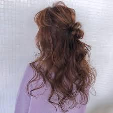 シーン別for髪型ロングさん胸きゅんかわいいヘアアレンジ集 Arine