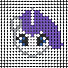 Small Perler Bead Patterns Delectable My Little Pony Perler Bead Patterns