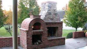 outdoor fireplace pizza oven diy outdoor fireplace and pizza oven plans